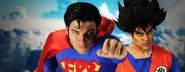 Goku vs Superman Banner