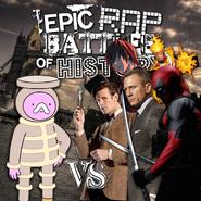Phlannel Boxingday vs the 11th Doctor, James Bond, Firestorm, Deadpool, and Light Yagami