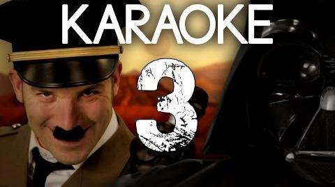KARAOKE ♫ Vader vs Hitler 3. Epic Rap Battles of History