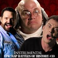 Billy Mays vs Ben Franklin Alternative Cover
