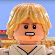 Luke Skywalker In Battle