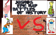 Goofy vs stimpy vs billy and ed