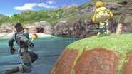 Savage Snake VS Isabelle Match (Super Smash Bros Ultimate)