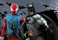 Scarley spider vs batman