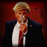 Donald Trump gas mask