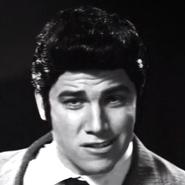 Young Elvis Presley In Battle