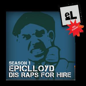 Dis Raps For Hire Season 1 CD.png