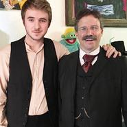 Javi Sánchez-Blanco with Theodore Roosevelt