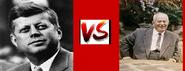 John F. Kennedy vs Nikita Khrushchev