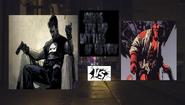 Punisher vs hellboy
