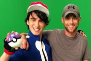 Nice Peter with Ash Ketchum