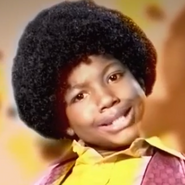 Young Michael Jackson In Battle