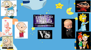 Stewie griffon vs the boss baby fr. baby herman tommy pickles jack jack maggie simpson lilly loud and pebbles and bam bam