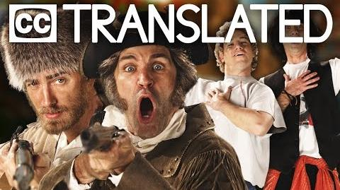 TRANSLATED Lewis and Clark vs Bill & Ted. Epic Rap Battles of History