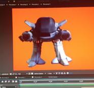 ED-209 Animating