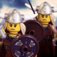 Viking Women Cameo