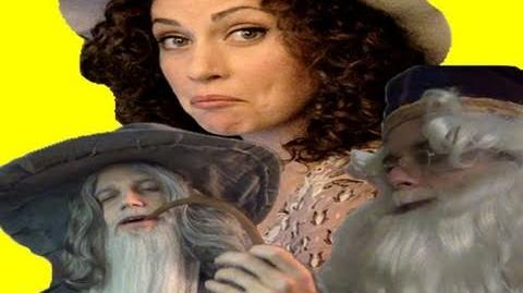 EPIC MAKEUP WITH DUMBLEDORE AND GANDALF! Ceciley