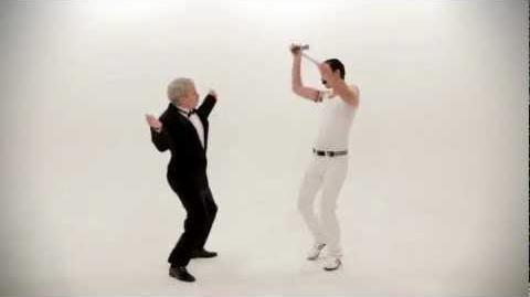 Freddy Mercury vs Frank Sinatra. Epic Dance Battles Of History.