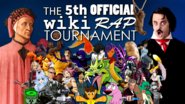 Fifth Official Wiki Rap Tournament Poster