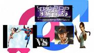 Wonder woman and superman vs indiana jones vs lara croft