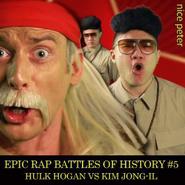 Hulk Hogan and Macho Man vs Kim Jong-Il Alternative Cover
