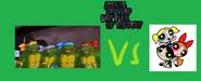 The teenage mutant ninja turtles vs the powerpuff girls