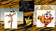 Tigger vs tony the tiger