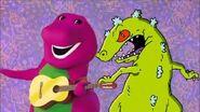 Ccarbe6062 Rap Battles BONUS - Barney vs Reptar