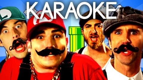 KARAOKE ♫ Mario Bros vs Wright Bros. Epic Rap Battles of History