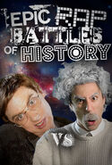 Albert Einstein vs Stephen Hawking IMDb Cover