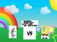 Olaf vs spongebob