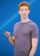 Mark Zuckerberg casual attire
