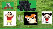 Shinchan vs hamtaro vs pucca