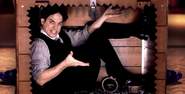 Harry Houdini In A Box