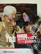 George Washington vs William Wallace Poster