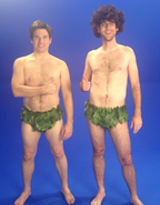 Adam and Steve Behind the Scenes