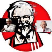Colonel sanders vs dave thomas