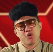 Kim Jong-il in Battle