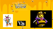 Charmy vs queen bee