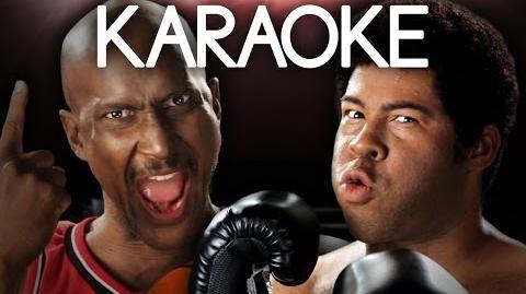 KARAOKE ♫ Michael Jordan vs Muhammad Ali. Epic Rap Battles of History