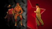 Hulk Hogan and Macho Man vs Kim Jong-il Who Won Without Text