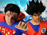 Goku vs Superman Thumbnail