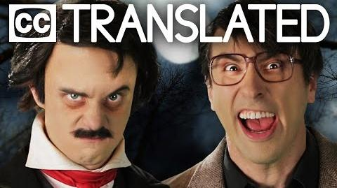 TRANSLATED Stephen King vs Edgar Allan Poe. Epic Rap Battles of History