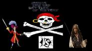 Captain hook vs jack sparrow
