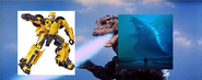 Bumblebee vs godzilla
