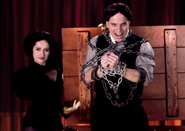 Harry Houdini In Chain