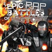 War Machine vs Raiden