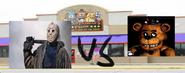 Jason voorhees vs freddy fazbear