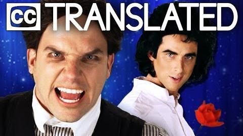 TRANSLATED David Copperfield vs Harry Houdini. Epic Rap Battles of History