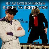 Justin Bieber vs Beethoven Alternative Cover